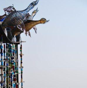 Quelques sculptures de verre de murano (oiseaux)
